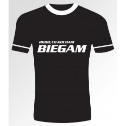 39 Robię co kocham Biegam T- shirt