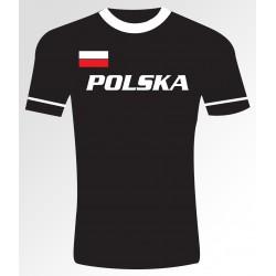 Polska +flaga T- shirt