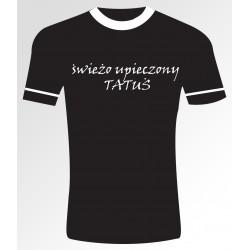 Świeżo upieczony tatuś T- shirt