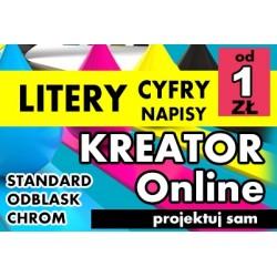 Zaprojektuj swój napis online