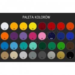 Litery - Folia 96 kolorów