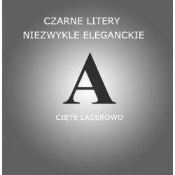 Literki Lustrzane - stwórz własny Napis