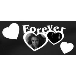 Forever - napis 3 d na ścianę